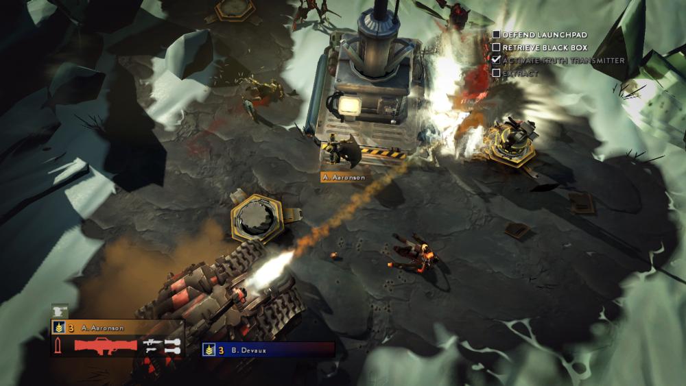 Helldivers PS4 screenshot