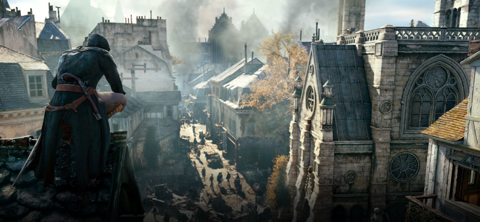 Assassins Creed Unity BAFTA screenshot