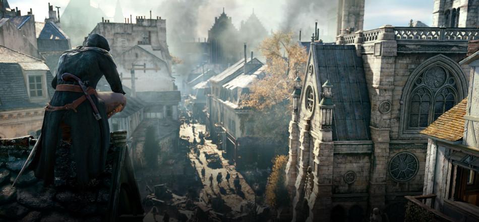 Assassins Creed Unity BAFTA screenshot