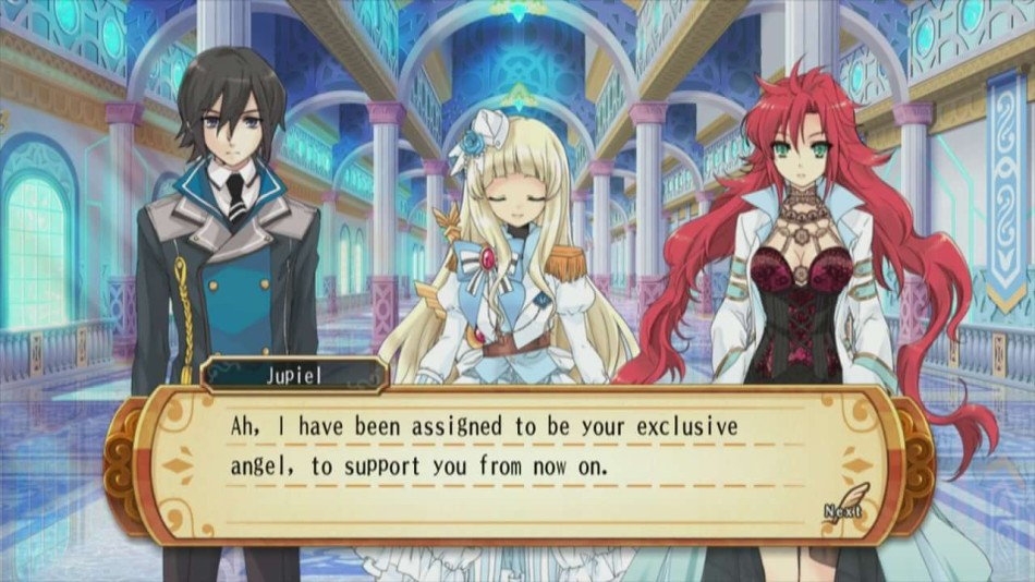 A large part of the game is story-based, with English-voiced characters and anime stills