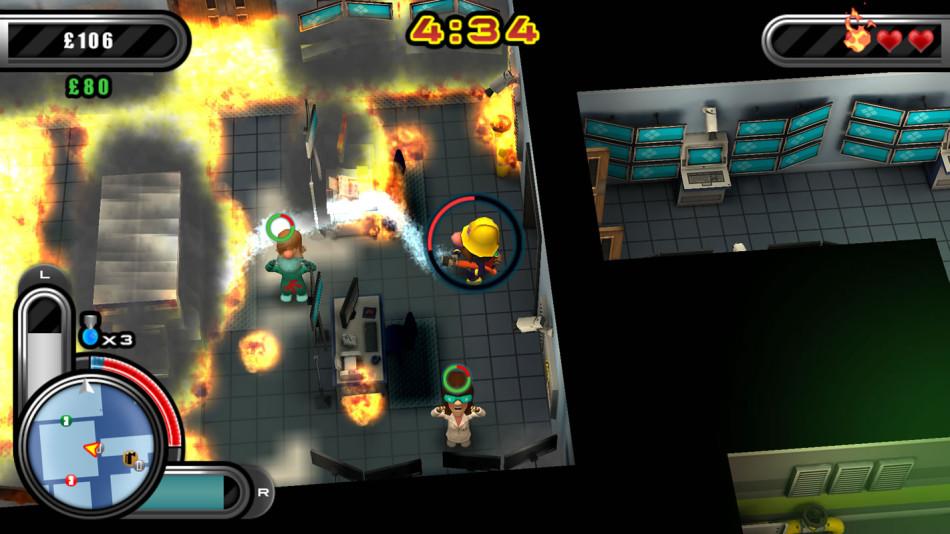 Flame Over PS VIta 3