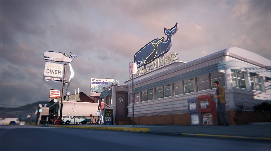 The Two Whales Diner - one of the new locations we visit in Episode 2 of Life is Strange