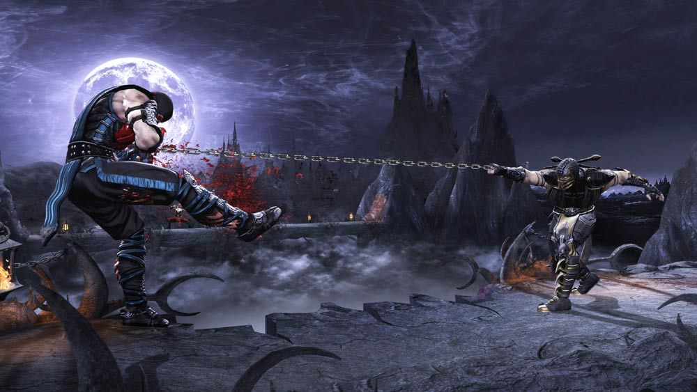 Mortal Kombat 9 beat em up screenshot