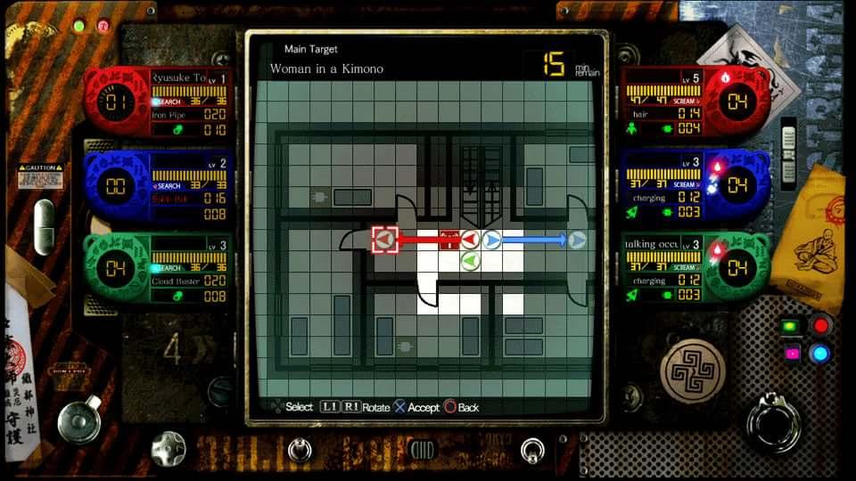 PS3 PS Vita Tokyo Twilight Ghost Hunters Review combat