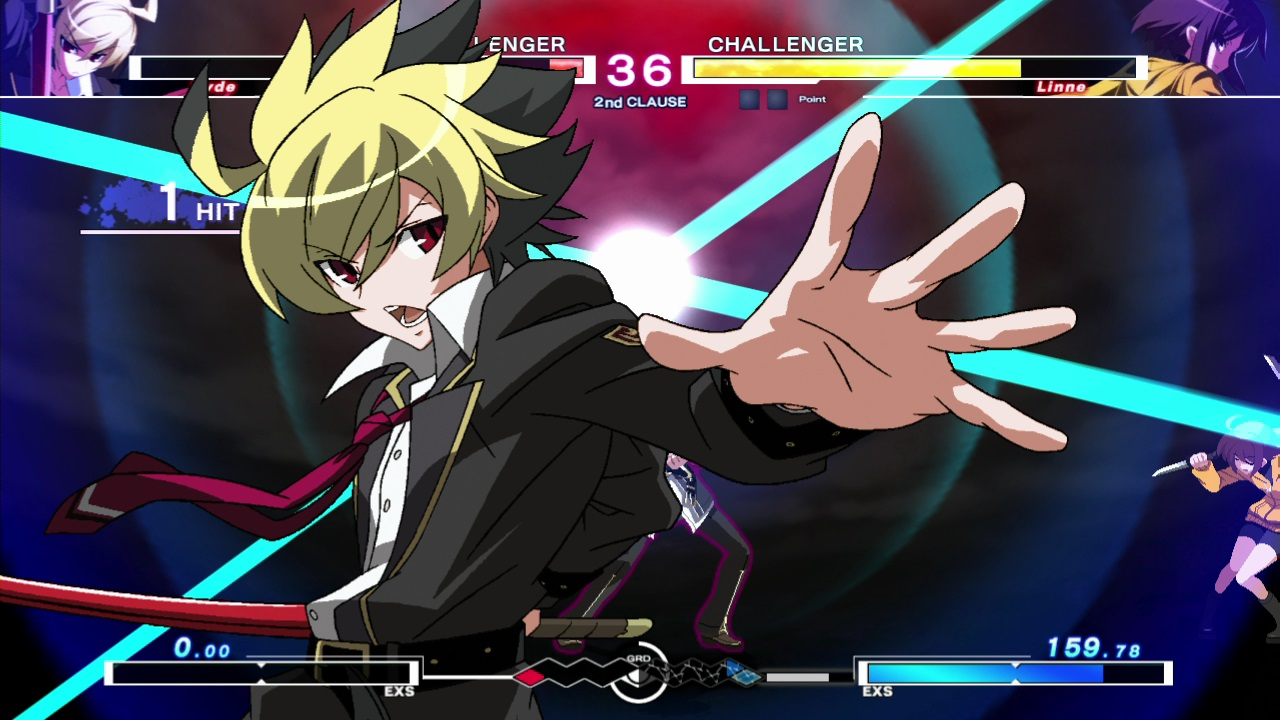 Under Night in-birth EXE screen 3