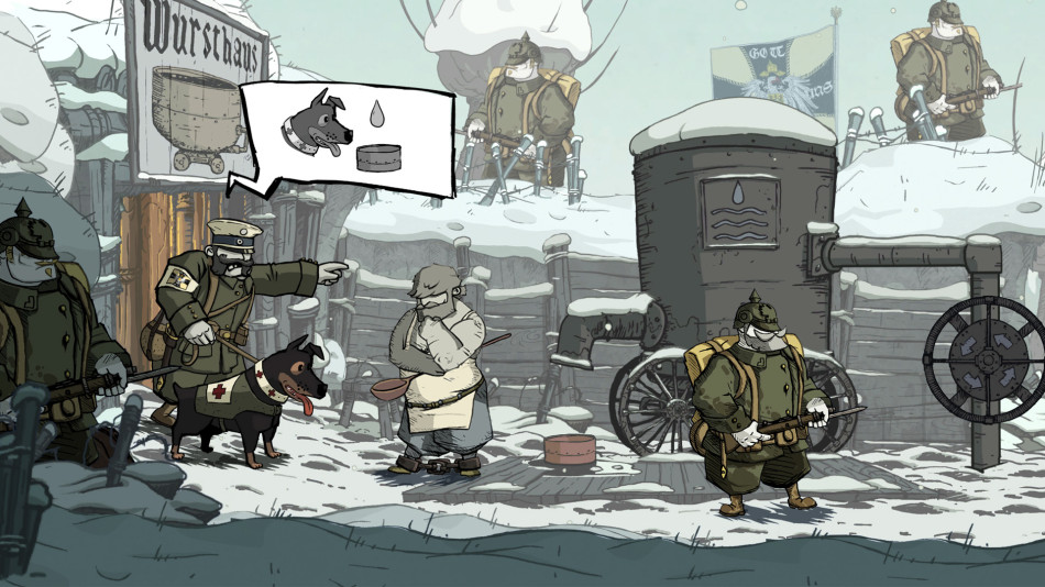 Valiant Hearts Ubisoft screenshot BAFTAS