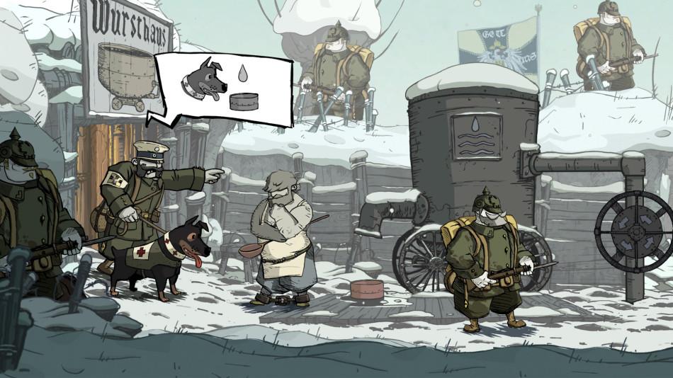 Valiant Hearts Ubisoft screenshot BAFTAS