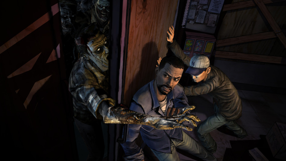 Point and Click Games PS4 The Walking Dead Telltale