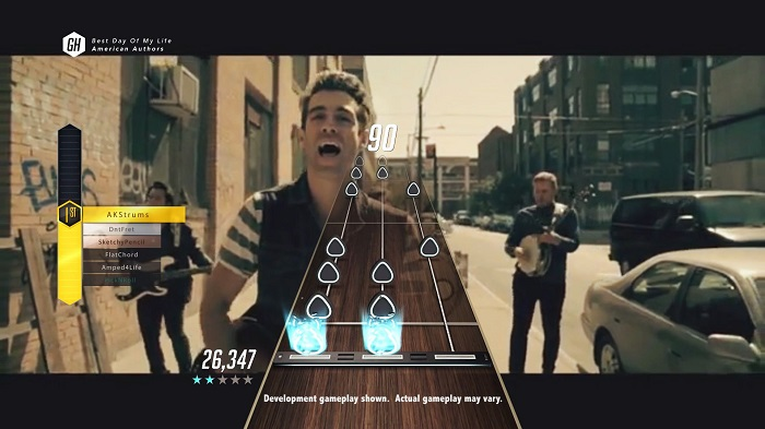 """GHTV"" lets you play guitar overlaid on a series of music videos"