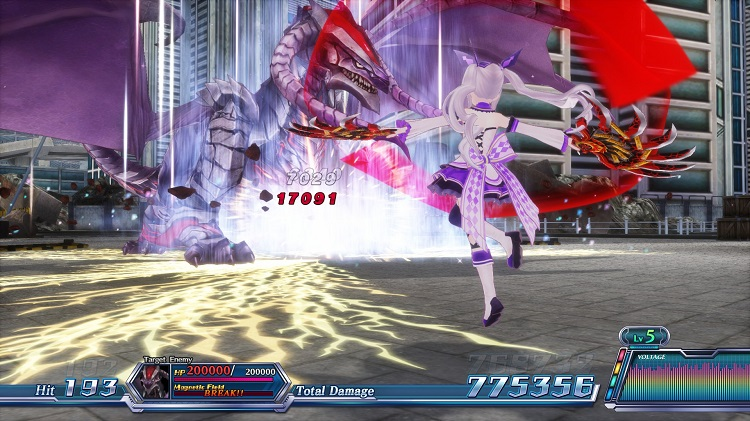 Omega Quintet Review Screenshot 2