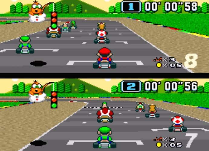16 bit racers