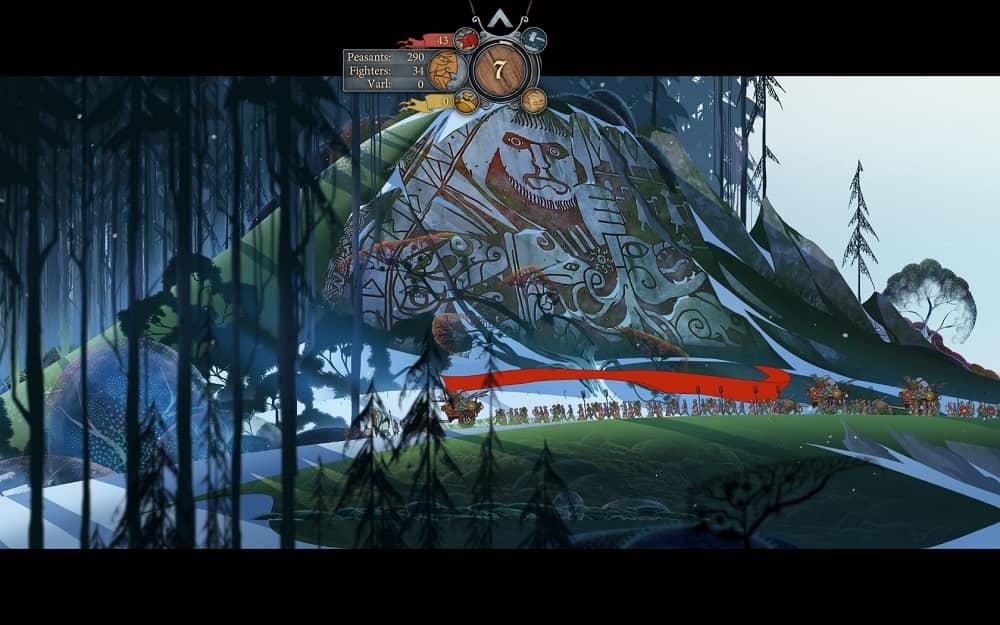 The Banner Saga 2-min